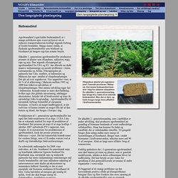 Biobrændstof - NOAH's klimasider