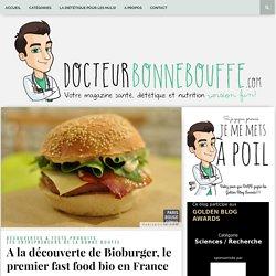 Bioburger, le premier fast food bio en France