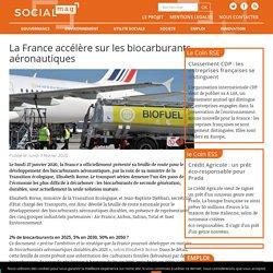 La France accélère sur les biocarburants aéronautiques