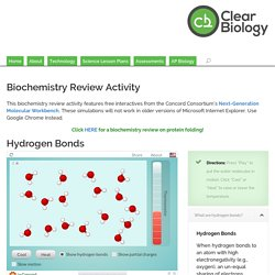 Biochemistry Review Activity - Clear Biology