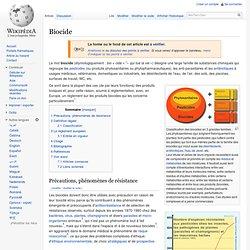 Biocide Wikipedia