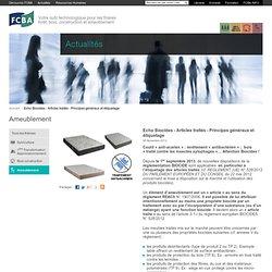 FCBA 06/11/13 Echo Biocides - Articles traités - Principes généraux et étiquetage