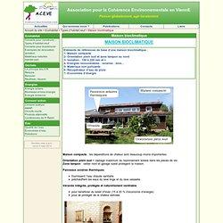 Maison bioclimatique - ACEVE - Association pour la Cohérence Environnementale en ViennE