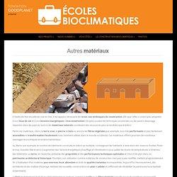 Écoles Bioclimatiques - Fondation GoodPlanet