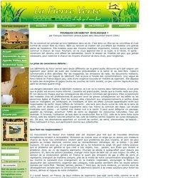 BioContact : La maison écologique
