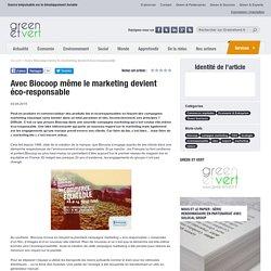 Avec Biocoop même le marketing devient éco-responsable