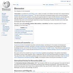 Biocurator