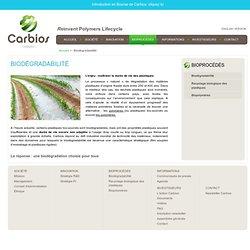 Biodégradabilité