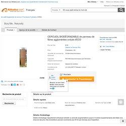 CERCUEIL BIODÉGRADABLE de panneau de fibres agglomérées ondulé d'ECO-Fournitures Funéraires-Id du produit:105296062-french.alibaba