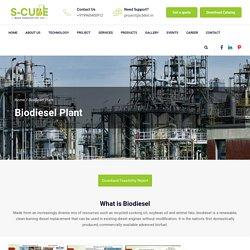 Biodiesel Plant, Biodiesel Technology - SCube Mass Transfer