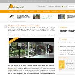 Biodivercity : un label pour les bâtiments qui font de la place à la biodiversité - 07/11/16