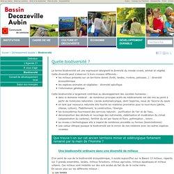 Biodiversité - Communauté de communes du Bassin Decazeville Aubin