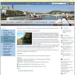 Appel à projets Biodiversité 2015 - Environnement - Transport - Territoires - LES ACTIONS