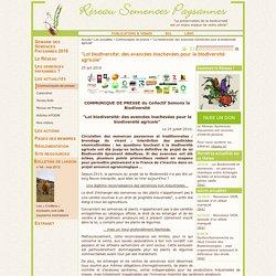 """""""Loi biodiversité: des avancées inachevées pour la biodiversité agricole"""""""