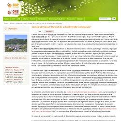 """Groupe de travail """"Portrait de la biodiversité communale"""""""