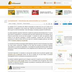 Loi biodiversité : l'interdiction des néonicotinoïdes sur la sellette