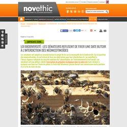 Loi biodiversité : les sénateurs refusent de fixer une date butoir à l'interdiction des néonicotinoïdes