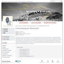 """Livret pédagogique """"Biodiversité"""" - Ressources pédagogiques - Enseignant - Je suis - Parc naturel régional des Volcans d'Auvergne"""