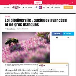 Loi biodiversité: quelques avancées et de gros manques