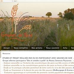 Pour le maintien de la biodiversité cultivée: Ressources
