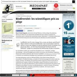 Biodiversité: les scientifiques pris au piège