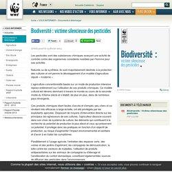 Biodiversité : victime silencieuse des pesticides
