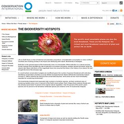 Biodiversity Hotspots - Home - StumbleUpon