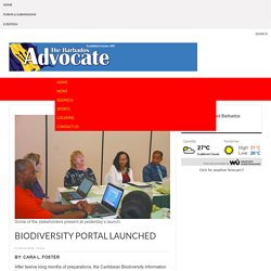 Biodiversity portal launched
