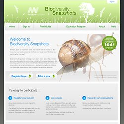 Biodiversity Snapshots