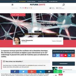 Bioélectronique : un implant biodégradable pour régénérer les nerfs