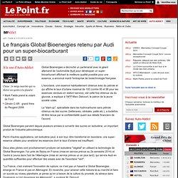 Le français Global Bioenergies retenu par Audi pour un super-biocarburant