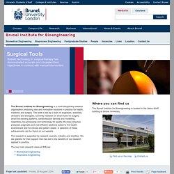 Brunel Institute for Bioengineering