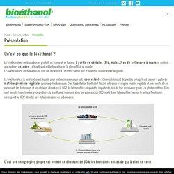 Le bioéthanol, un carburant d'origine végétale pour rouler plus vert et moins cher