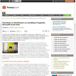 Chemin e bio thanol pearltrees - Chauffage ethanol danger ...