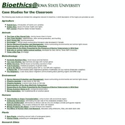 ISU Bioethics Outreach