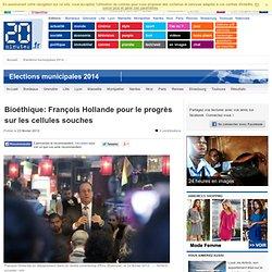 Hollande pour le progrès sur les cellules souches