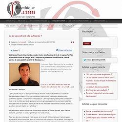 Bioethique.com au service des soignants - La loi Leonetti est-elle suffisante ?