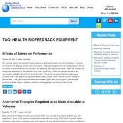 Health Biofeedback Equipment Archives - Biofeedback Resources International