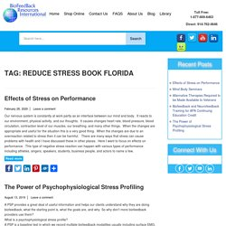 Reduce stress book Florida Archives - Biofeedback Resources International