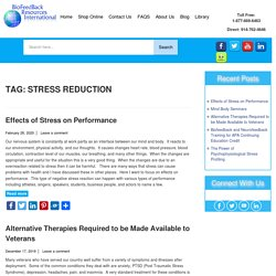 Stress Reduction Archives - Biofeedback Resources International