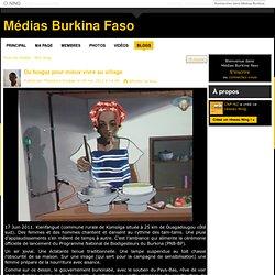 Du biogaz pour mieux vivre au village - Médias Burkina Faso