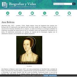 Biografia de Ana Bolena