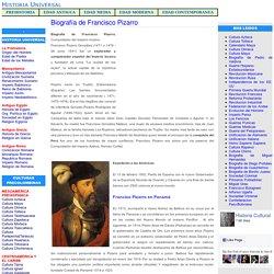 Biografía de Francisco Pizarro