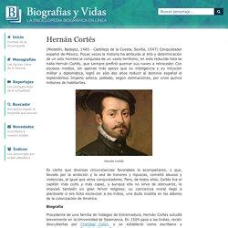 Biografia de Hernán Cortés