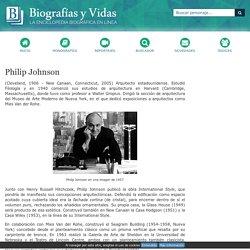 Biografia de Philip Johnson