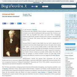 Biografia di Immanuel Kant
