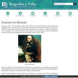 Biografia de Francisco de Miranda