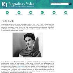 Biografia de Frida Kahlo