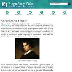 Biografia de Gustavo Adolfo Bécquer