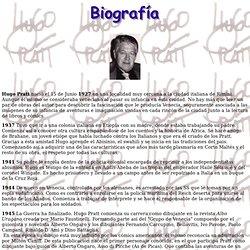 Biografía de Hugo Pratt